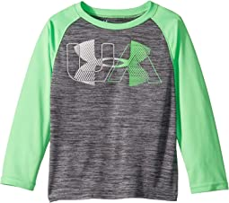 UA Linear Logo Twist Raglan (Little Kids/Big Kids)