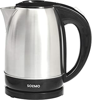 Amazon Brand - Solimo Stainless Steel Electric Kettle (1.7 Lit, 2000W)
