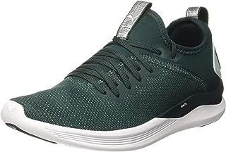 PUMA Women's Ignite Flash Evoknit SR WN's Sneaker, Ponderosa Pine-fair Aqua