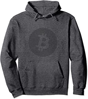 Bitcoin Logo Hoodie for Men Cryptocurrency Hoodie
