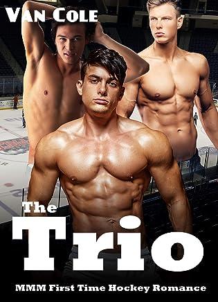 The Trio: MMM First Time Hockey Romance (English Edition)