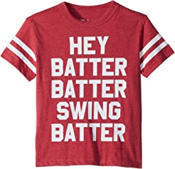 Chaser Kids - Vintage Jersey Batter Batter Tee (Toddler/Little Kids)