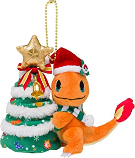 Pokemon center original Plush Toy Mascot Christmas 2018 Charmander