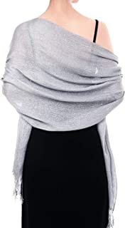 Best silver shawls for evening dresses Reviews