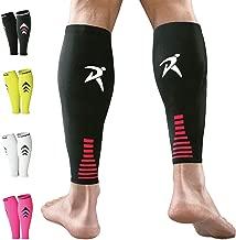 Rymora Calf Compression Sleeves (Ideal for Shin Splints, Running, Sports for Men/Women)