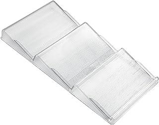 iDesign étagère à épices pour tiroir, porte épices en plastique adapté à de nombreux tiroirs de cuisine, rangement pour ti...