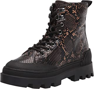 Circus by Sam Edelman Women's Indy Snow Boot, Warm Taupe Snake Print, 6