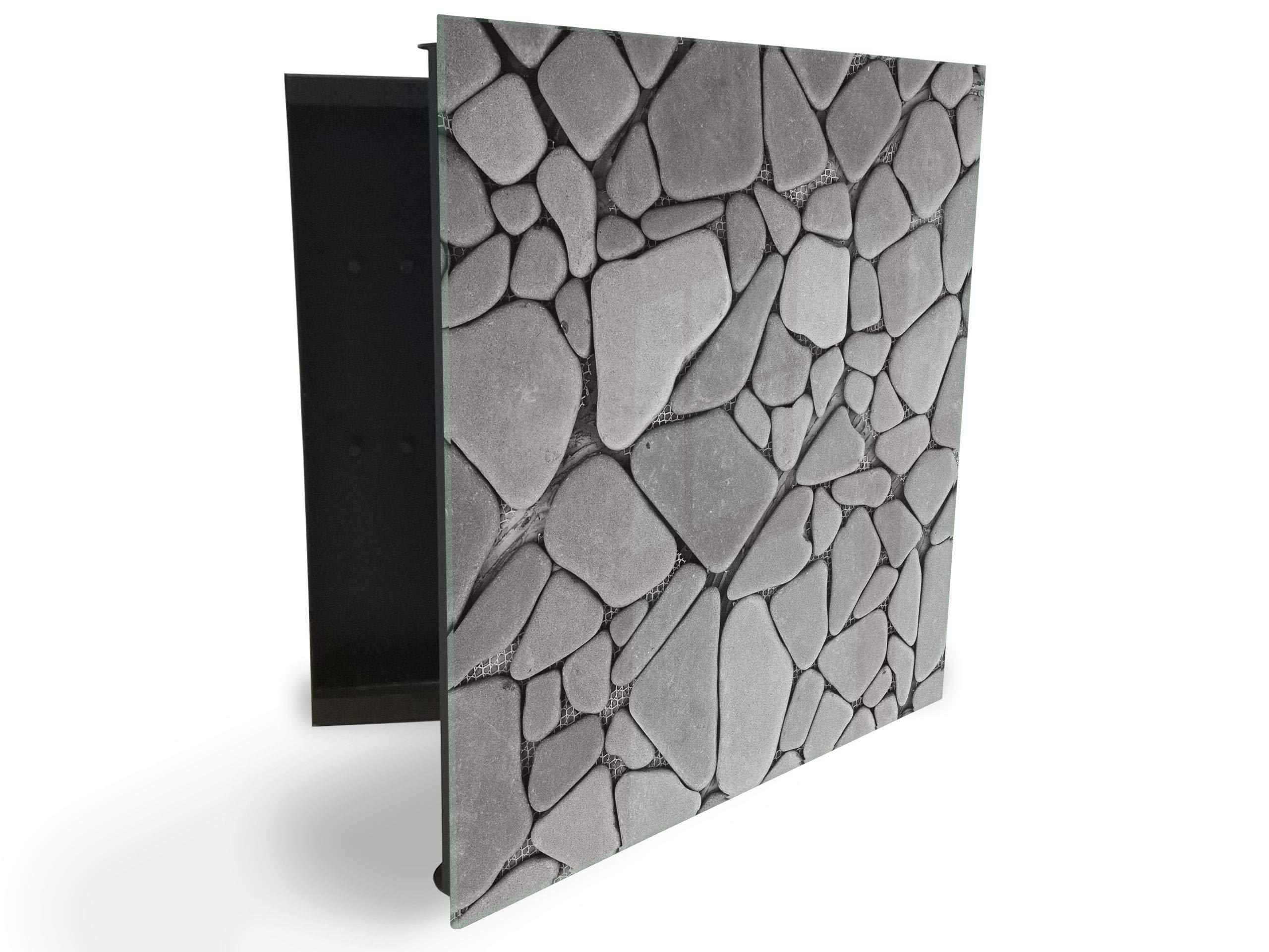 GlassArtist HMF 13653884 - Caja para Llaves (30 x 30 cm, con ...