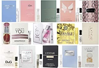Designer Fragrance Samples for Women - Sampler Lot x 15 Perfume Vials