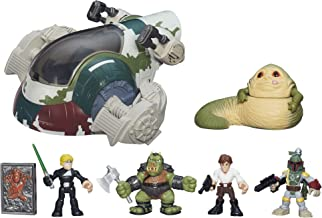 Star Wars Galactic Heroes Jabbas Bounty Playset, Ages 3-7, Jabba The Hutt Toy Vehicle