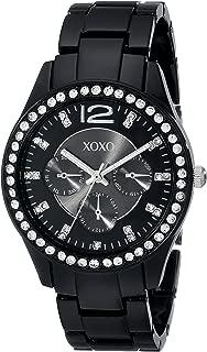 XOXO Womens Quartz Watch, Analog Display and Stainless Stell Strap - XO5483