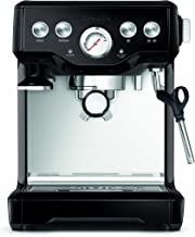 Breville BES840BSXL Infuser Espresso Machine, Black Sesame