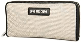 Love Moschino Monederos cartera mujer artículo JC5516PP15LD CANVAS NATUR PU LOGO