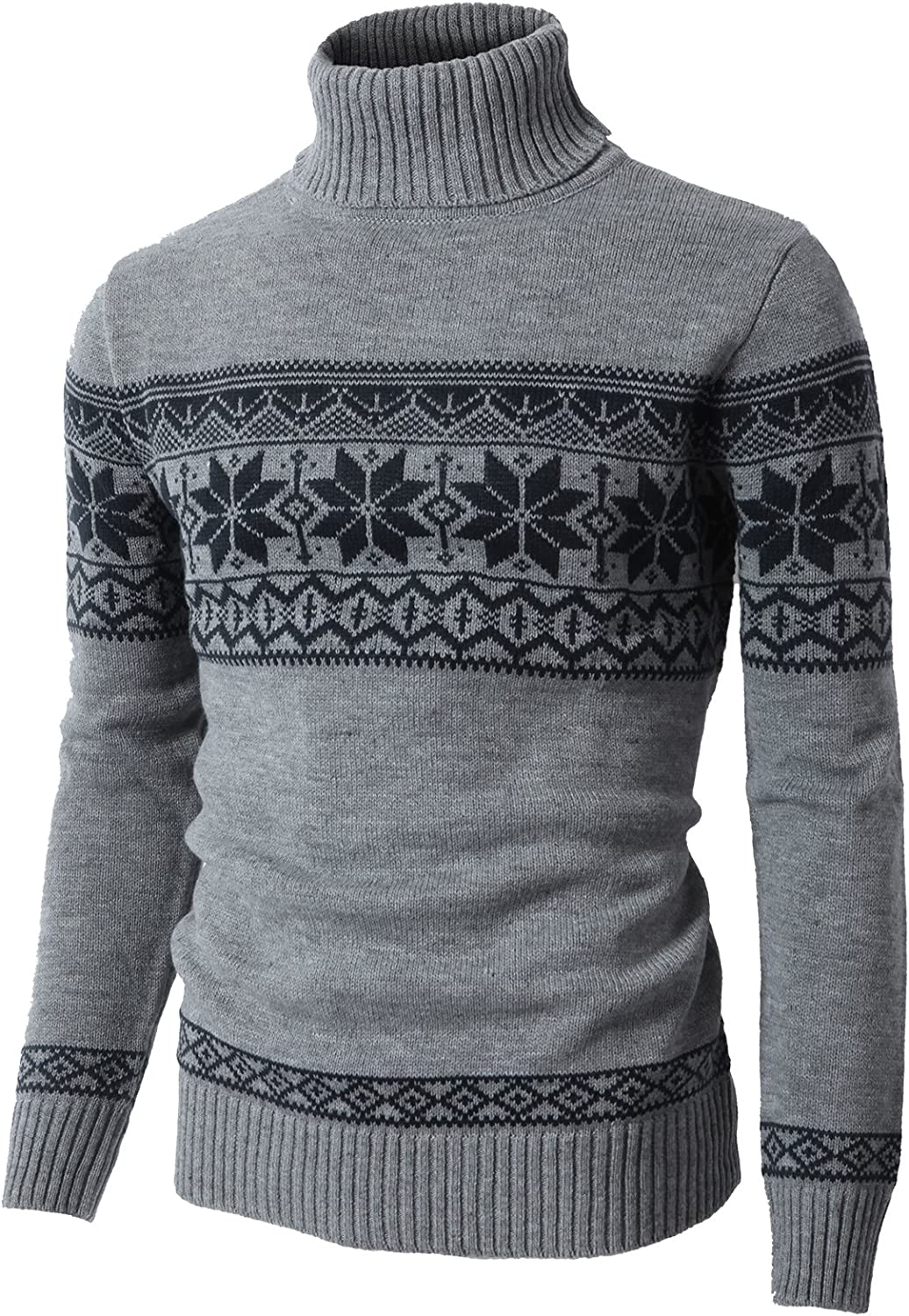 H2H Special price for a limited time Ranking TOP2 Mens Casual Slim Fit Knitted Pullover Swe Various of Thermal