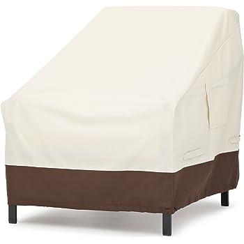 AmazonBasics Lounge Deep-Seat Outdoor Patio Furniture Cover, Set of 2