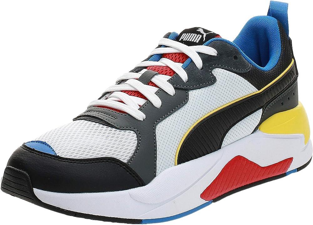 Puma x-ray scarpe sneakers da ginnastica uomo in pelle sintetica e tessuto 372602