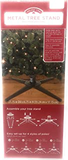 Holiday Time Metal Tree Stand Holds Trees up to 7.5 ft Tall