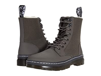 Dr. Martens Combs II FL (Gunmetal Ajax (E97)/Enterprise 50/50) Shoes