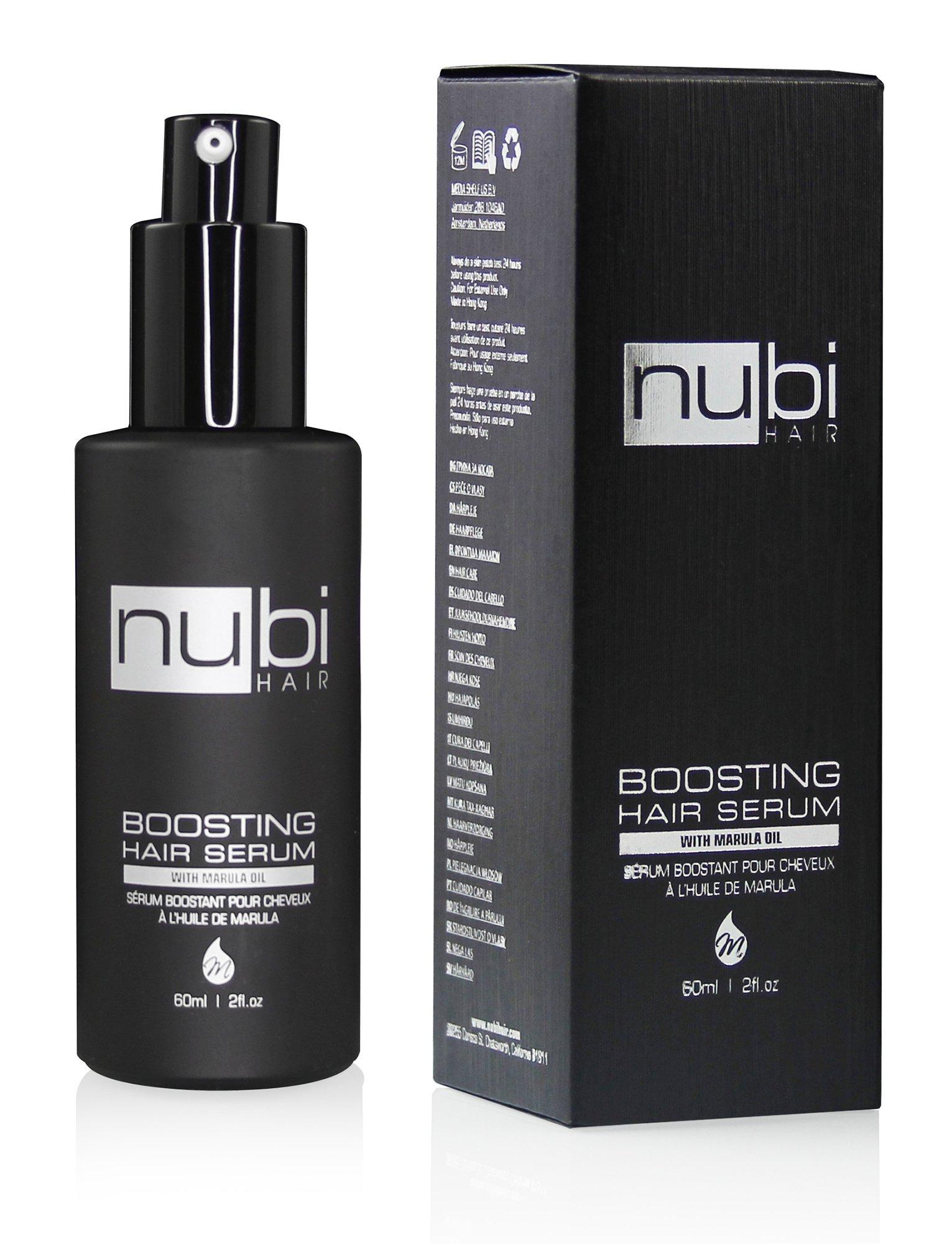 Nubi Boosting Hair Marula Vitamin