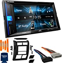 """$299 » Sponsored Ad - JVC Bundle - Dash Kit, Wiring Harness and Antenna Adaptor KW-V250BT 6.2"""" Multimedia Receiver, Compatible wi..."""