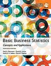 Basic Business Statistics, eBook, Global Edition