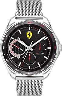 Ferrari Unisex-Adult Quartz Watch, Analog Display and Silicone Strap 830684