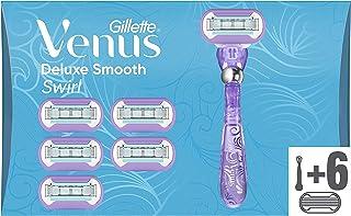 Gillette Venus Deluxe Smooth Swirl Scheermes met navulmesjes - 6 Mesjes