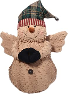 Craft Outlet Chenille Snow Angel Figurine, 15-Inch