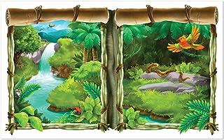 jungle scene setters decorations