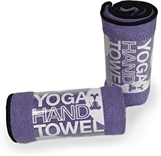 YogaRat Yoga Hand Towel (2 Pack) or Face Towels (4 Pack) - Quick-Drying - Absorbent - Compact - Ultra Versatile - Extremel...
