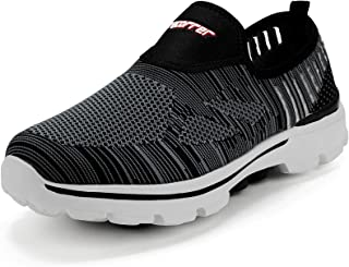 recorrer Repose Men's Grey Slip-on Casual Sneakers Shoes