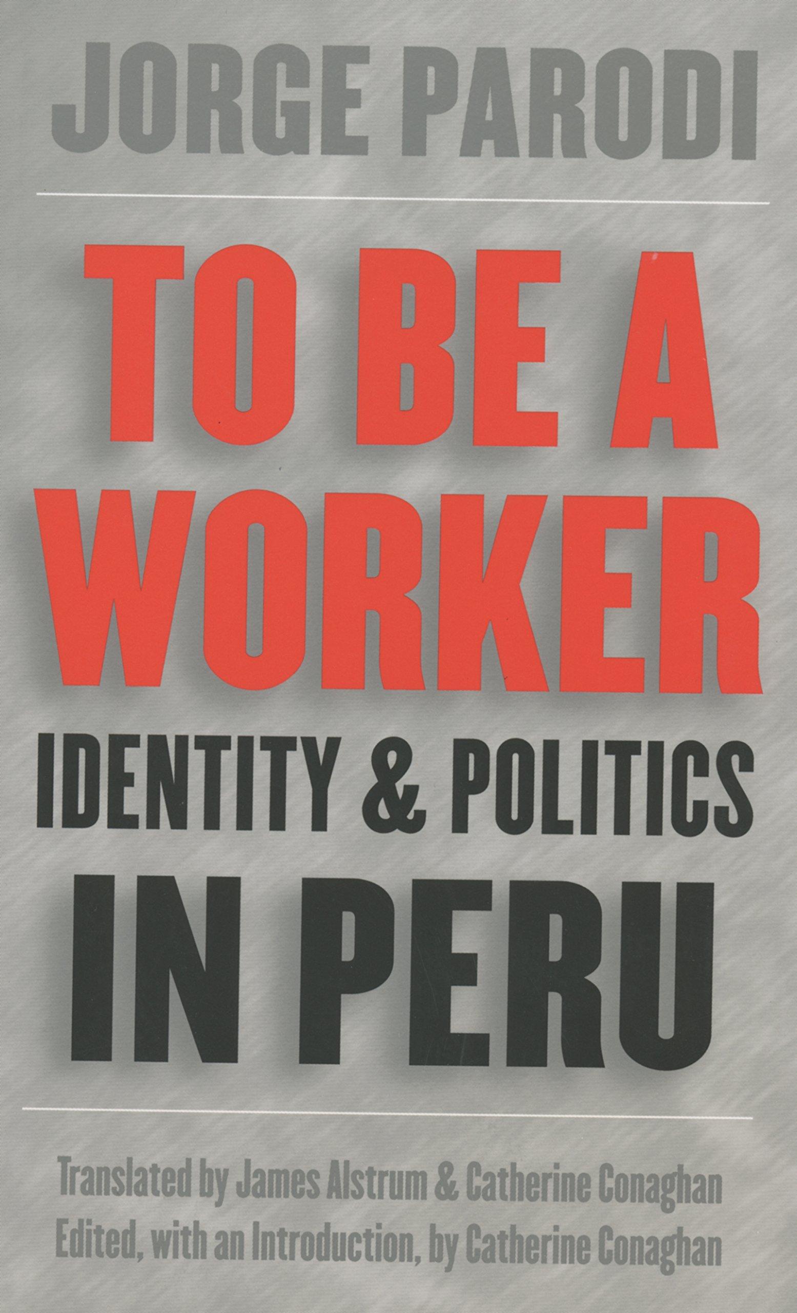 To Be a Worker: Identity and Politics in Peru (Latin America in Translation/en Traducción/em Tradução)