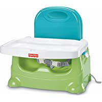 Fisher-Price Healthy Care Booster Seat (Green/Blue)