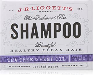 J.R. Liggett Bar Shampoo, Tea Tree Oil Formula, 3.5 Ounce