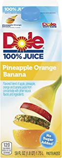 Dole Pineapple Orange Banana 100% Juice, 59 oz