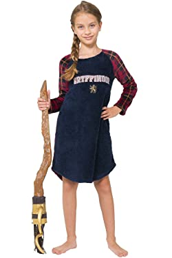 Harry Potter Girls' Big Griffyindor Raglan Nightgown