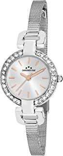 Chronostar R3753156504 Venere Year Round Analog Quartz Silver Watch
