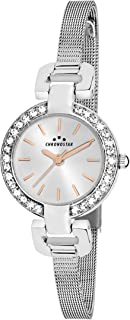 Chronostar R3753156504 Venere Year Round Analog Quartz Silver Watch