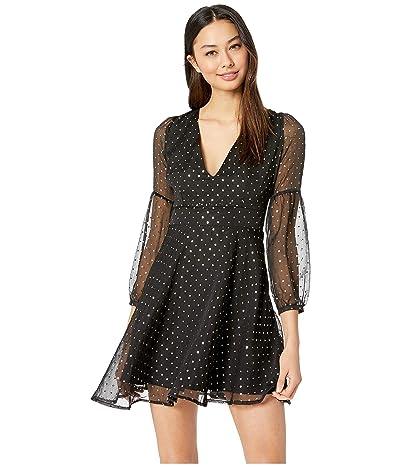 BB Dakota Star Gazer Printed Dress (Black) Women