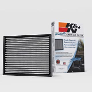 K&N Premium Cabin Air Filter: High Performance, Clean Airflow to your Cabin: Designed For Select 2005-2019 Toyota Tacoma, ...