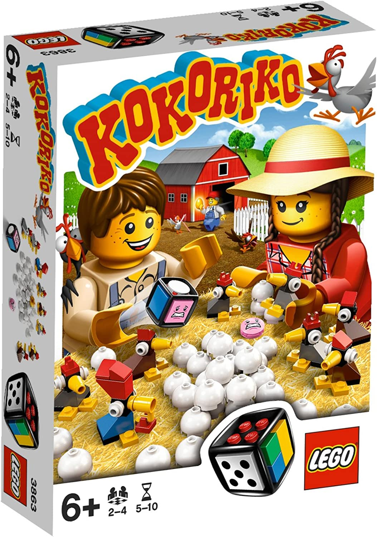 LEGO Spiele 3863 - Kokoriko B005KIQU8S  Spielzeugwelt, fröhlicher Ozean | Neue Produkte im Jahr 2019