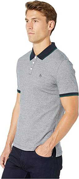 Short Sleeve Feeder Stripe Polo