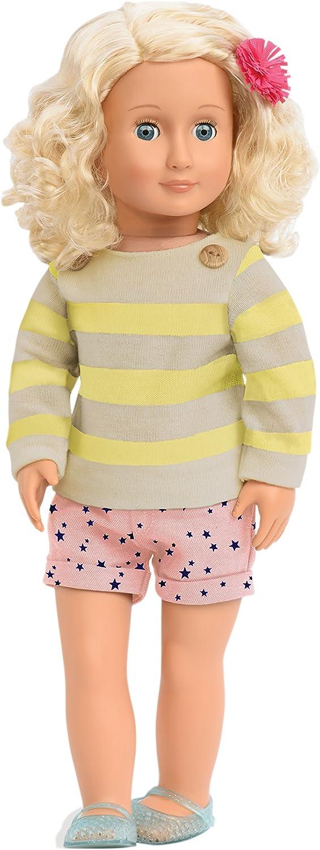 Our Generation BD31090 - OG - Jodie Puppe mit Shorts und Sweater, 46 cm B06WGQ3KZ4 Moderne und stilvolle Mode | Sale Düsseldorf
