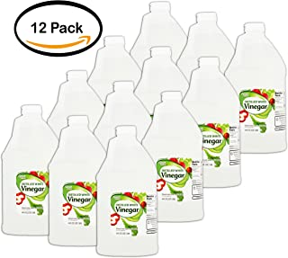 PACK OF 12 - Great Value Distilled White Vinegar, 64 oz