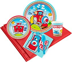 BirthdayExpress Two-Two Train Party Supplies - Party Pack for 24 Guests