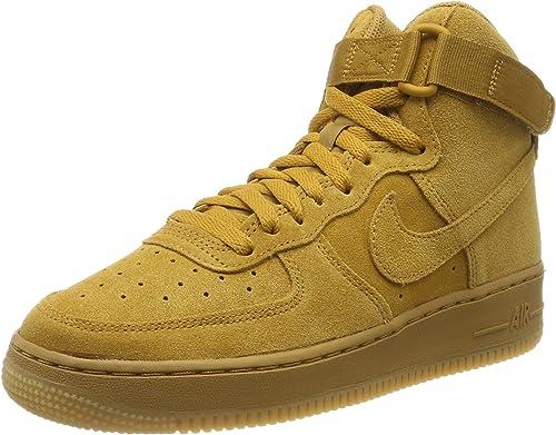 Nike Air Force 1 High Lv8 GS 807617-701, Baskets Hautes Homme