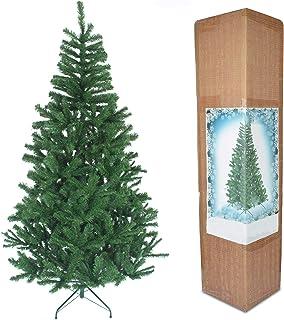 comprar comparacion Árbol de Navidad de 1,5 m, árbol Artificial Verde, 390 Puntas con Soporte de Metal.
