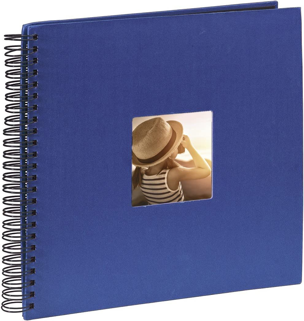Bianco /& Fine Art Album Fotografico a Spirale Hama 2109 Album Spiralato Fine Art colore blu 300 Foto 36 x 32 cm 50 Pagine 36 x 32 cm 50 Pagine