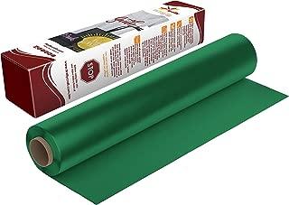 Firefly Craft Regular Green Heat Transfer Vinyl | Green HTV Vinyl | Green Iron On Vinyl for Cricut and Silhouette | Heat Press Vinyl for Shirts - 12