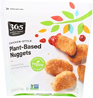 365 by Whole Foods Market, Frozen Plant-Based Nuggets, Chicken-Style, 1.5 Ounce